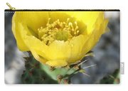 Opuntia Ficus-indica Flower Of The Prickly Pear Carry-all Pouch