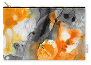 Orange Abstract Art - Iced Tangerine - By Sharon Cummings Carry-all Pouch