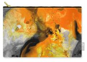 Orange Abstract Art - Light Walk - By Sharon Cummings Carry-all Pouch