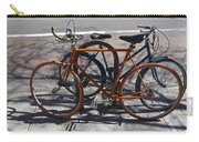 Orange And Blue Bikes Carry-all Pouch