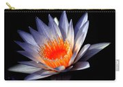 Orange And Blue Lily...   # Carry-all Pouch