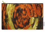 Orange And Yellow Fantasy Carry-all Pouch