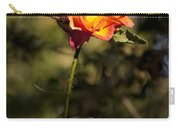 Orange And Yellow Rose Carry-all Pouch
