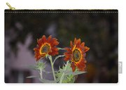 Orange Asters Carry-all Pouch