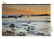 Orange At Sunset Carry-all Pouch by Guido Montanes Castillo