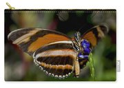 Orange Banded Butterfly Carry-all Pouch