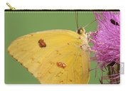 Orange Barred Sulphur Carry-all Pouch