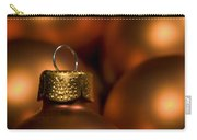 Orange Baubles Carry-all Pouch by Anne Gilbert