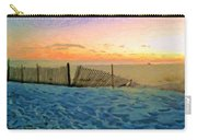 Orange Beach Sunset - The Waning Of The Day Carry-all Pouch