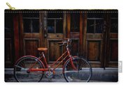 Orange Bike Carry-all Pouch