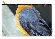 Orange Breasted Bird Portrait Carry-all Pouch