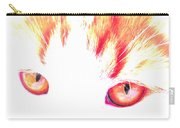 Orange Cat Eyes Carry-all Pouch