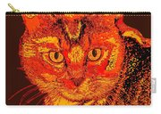 Orange Cat Carry-all Pouch