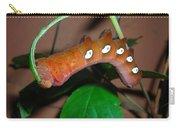 Orange Caterpillar Carry-all Pouch