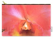 Orange Cattleya Orchid Carry-all Pouch