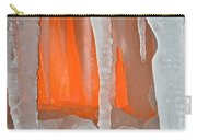 Orange Cave Carry-all Pouch