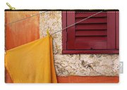 Orange Cloth  Carry-all Pouch