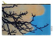 Orange Clouds Carry-all Pouch