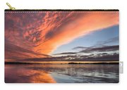 Orange Clouds Over Humboldt Bay Carry-all Pouch