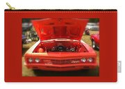 Orange Color Chevrolet Car Carry-all Pouch