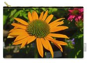 Orange Cone Flower Carry-all Pouch