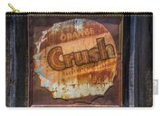 Orange Crush Sign Carry-all Pouch