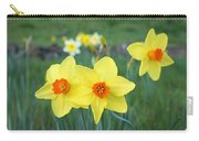 Orange Daffodils Flowers Spring Garden Carry-all Pouch