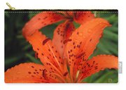 Orange Day Lilies Carry-all Pouch