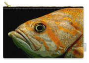 Orange Fish Carry-all Pouch
