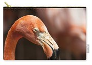 Orange Flamingo Carry-all Pouch