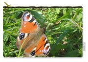 Orange Flutter Carry-all Pouch