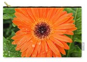 Orange Gerber Daisy 2 Carry-all Pouch