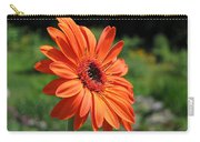 Orange Gerbera Daisy Carry-all Pouch