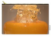 Orange Glass Sculpture Carry-all Pouch