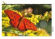 Orange Gulf Fritillary Carry-all Pouch