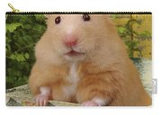 Orange Hamster Ha106 Carry-all Pouch