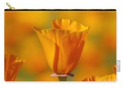 Orange Harmony Carry-all Pouch