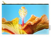 Orange Hibiscus Texture I Carry-all Pouch