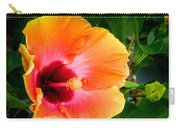 Orange Hibiscuses Carry-all Pouch
