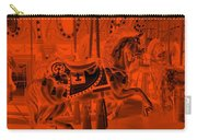 Orange Horse Carry-all Pouch