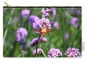 Orange Hummingbird Moth Carry-all Pouch
