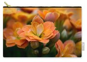 Orange Kalanchoe With Company Carry-all Pouch
