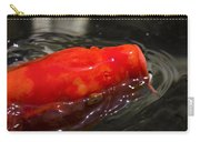 Orange Koi Carry-all Pouch