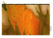 Orange Leaves Of Fall Carry-all Pouch