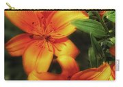 Orange Lillies Carry-all Pouch