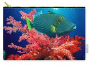 Orange-lined Triggerfish Balistapus Carry-all Pouch