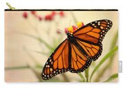 Orange Mariposa Carry-all Pouch