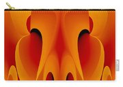 Orange Mask Carry-all Pouch