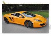 Orange Mclaren Mp4-12c Carry-all Pouch