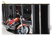 Orange Motorcycle Carry-all Pouch